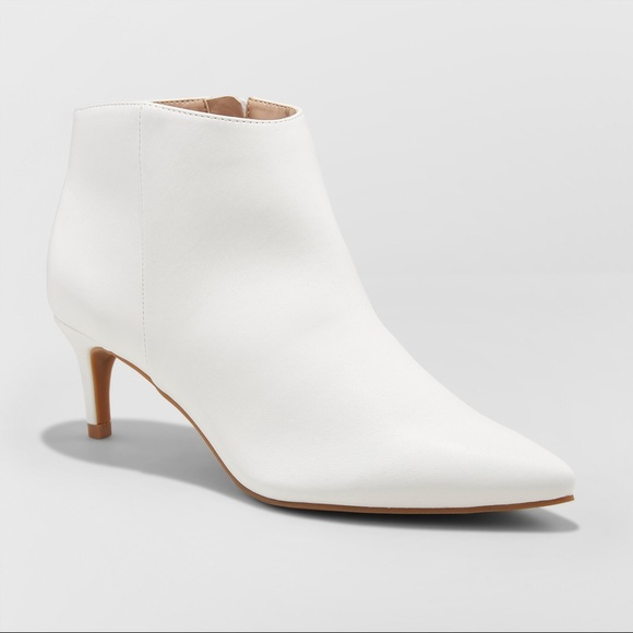 3d29a44c0a Shoes | Womens Dominique Pointed Kitten Heel Booties | Poshmark